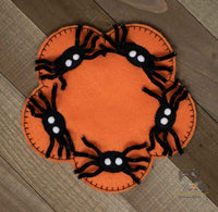 ITH Spider Mug Rug (set of 2)