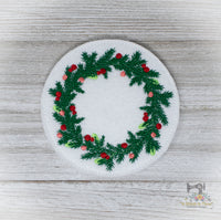 ITH Christmas Wreath Coaster