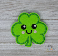 ITH Smiley Shamrock Feltie