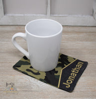 ITH Fabric Mug Rug Set of 3 Designs