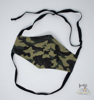 Reusable Cloth Non-Medical Face Mask - Adult Size - Camo 2