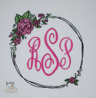 Rose Wreath - 2 versions