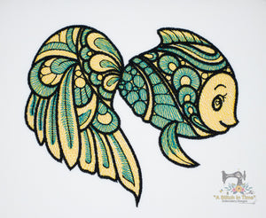Fancy Fish 7.43 x 6.28