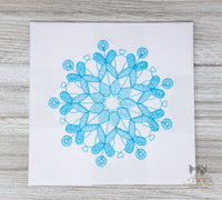 Delicate Snowflakes Set of 6