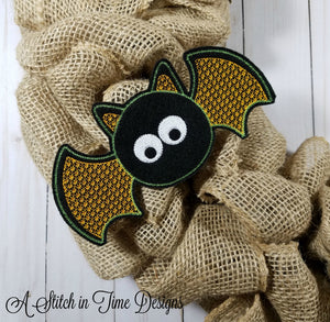 ITH Wreath Decor - Bat 5x7