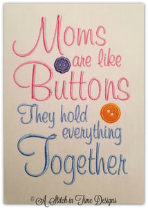 Moms Buttons