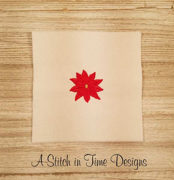 Poinsettia Mini Design