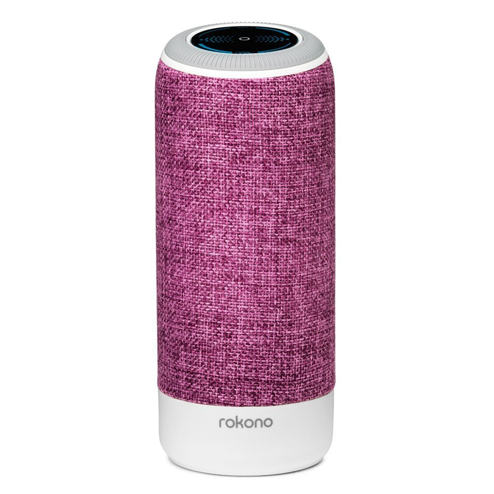 Rokono Accents Mini Bluetooth Speaker - Raspberry Red