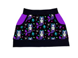 Gothic Mermaid Jersey Pocket Skirt