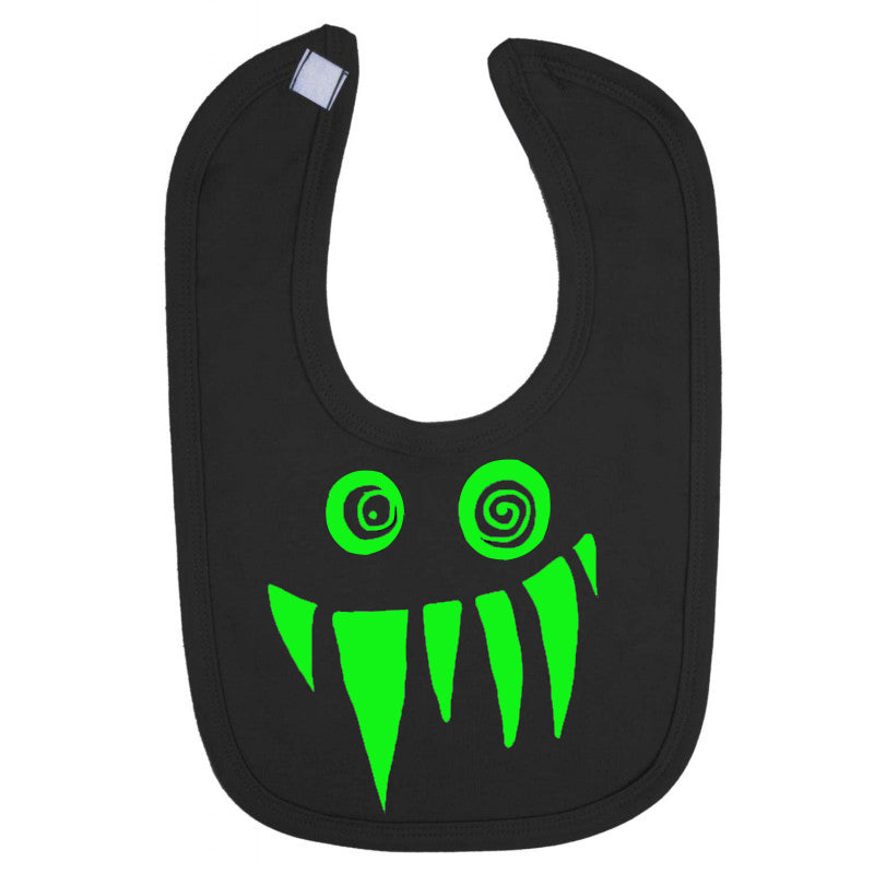 Monster Print Baby Bib