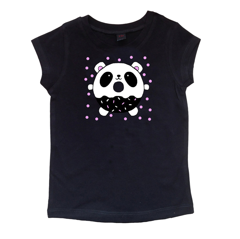 Panda Donut Girls T-shirt