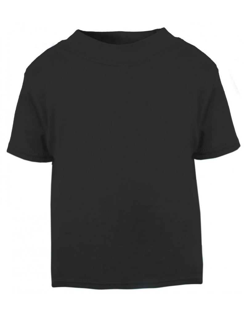 Short Sleeved Black T-shirt