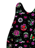 Black Retro Tattoo Baby Sleeping Bag