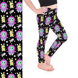 Zombie Doll Kids Leggings