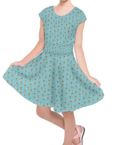 Baby Yoda Girls Dress