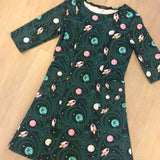Rockets and Planets Ladies Dress with Pockets