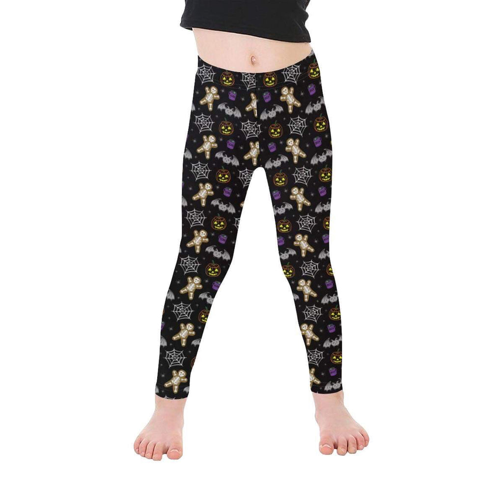 Kids Halloween Print Leggings