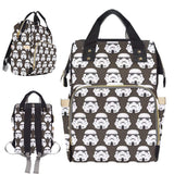 Grey Star Wars Storm Trooper Nappy Changing Bag