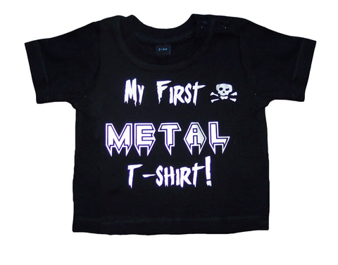My First Metal T-shirt