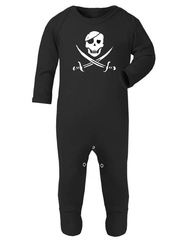 Pirate Skull Sleepsuit