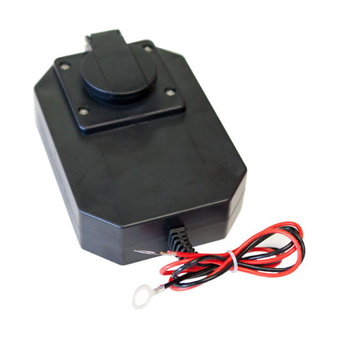 Panel Mount Battery Charger with Battery Tester