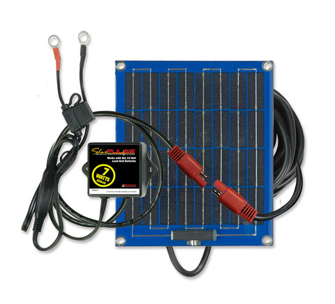 SP-7 SolarPulse 12V Solar Battery Charger Maintainer