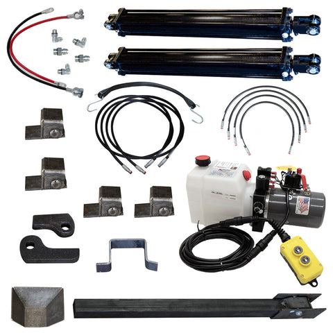 Trailer direct push cylinder dump kit | PCK 3530-2DP