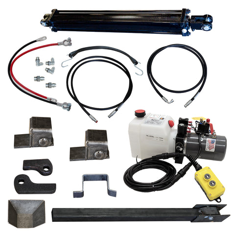 Trailer direct push cylinder dump kit | PCK 3530-DP