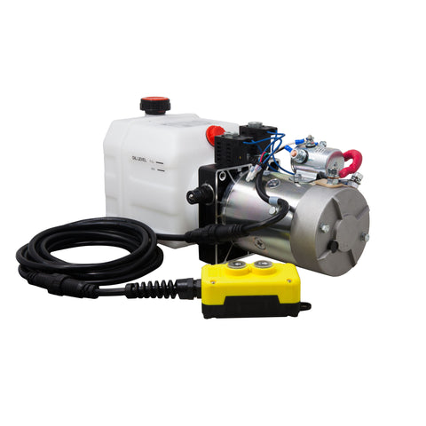 3 Quart 24V KTI Double Acting Hydraulic Pump