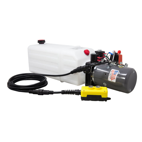 8 Qt Double Acting Hydraulic Pump