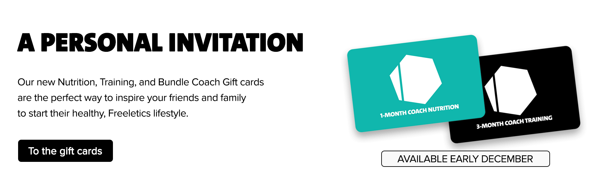Freeletics Coach Gift cards