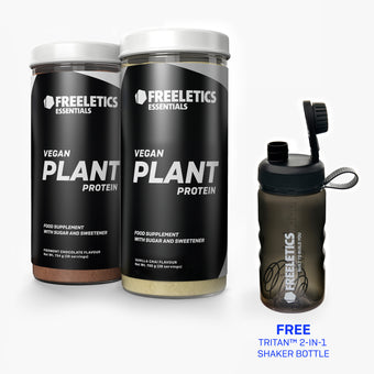Built to Build you - Plant-Based Protein