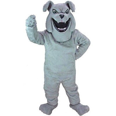 Barky the Bulldog Mascot Costume