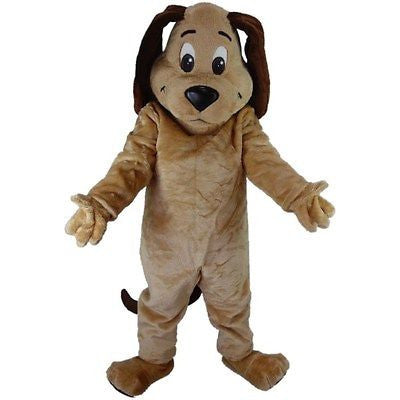 Tan Dog Mascot Costume