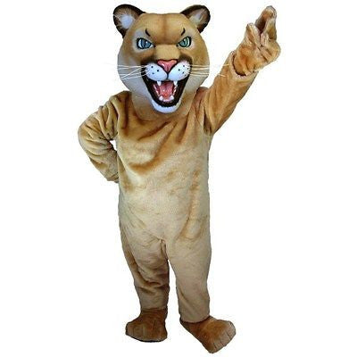 Puma or Cougar Mascot Costume
