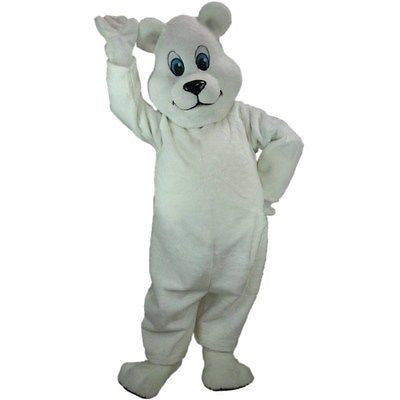 Breezy Bear Mascot Costume