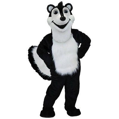 Stinky the Skunk Mascot Costume