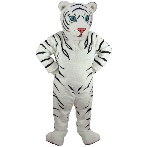 White Tiger Cub Lightweight Mascot Costume