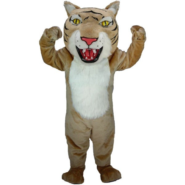 Tan Wildcat Lightweight Mascot Costume