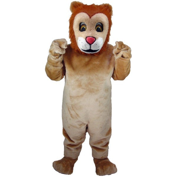 Friendly Lion Lightweight Mascot Costume
