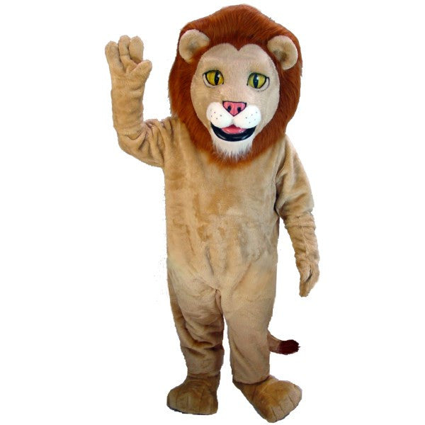 Lewis the Lion  Lightweight Mascot Costume
