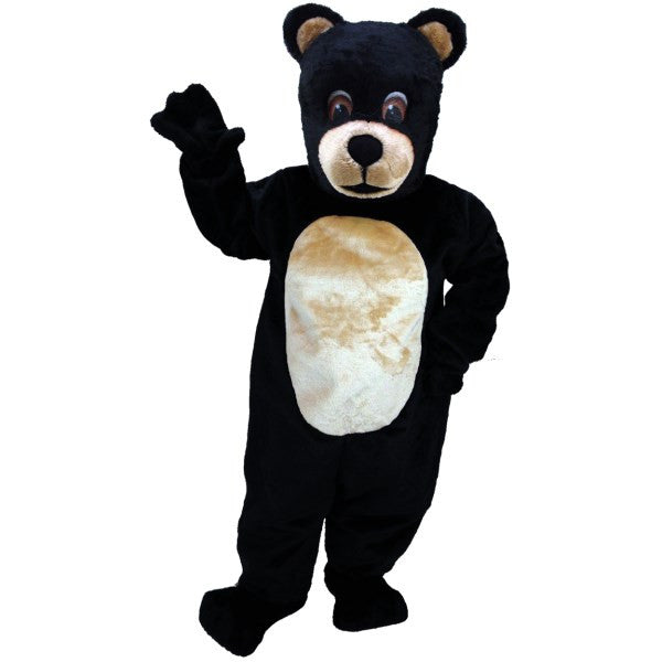Jr Black Bear Lightweight Mascot Costume