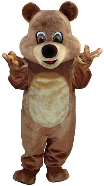 Brown Teddy Bear Lightweight Mascot Costume