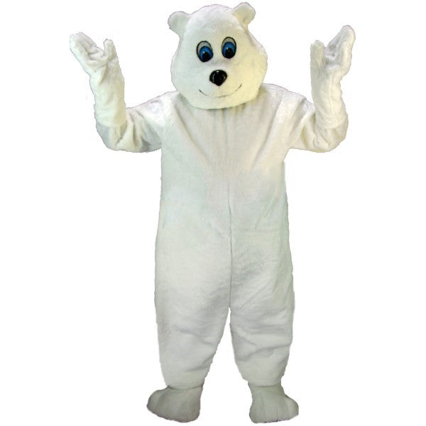 Happy Polar Bear Lightweight Mascot Costume