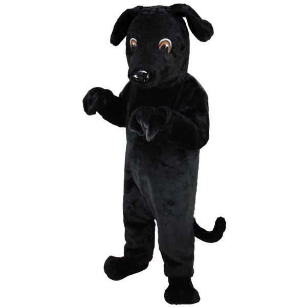 Black Lab Lightweight Mascot Costume