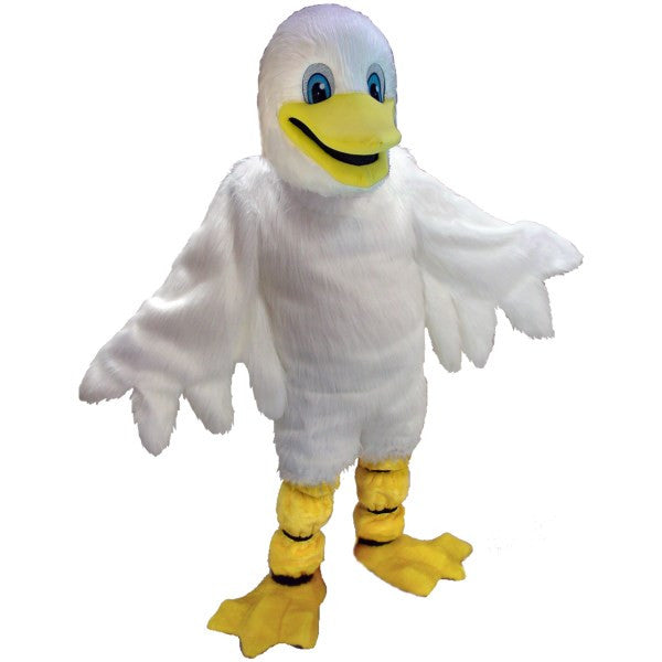 White Duck Lightweight Mascot Costume