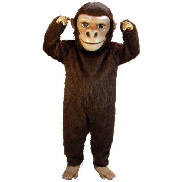 Brown Gorilla Lightweight Mascot Costume