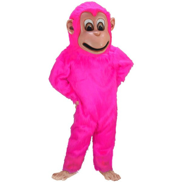 Pink Monkey Lightweight Mascot Costume