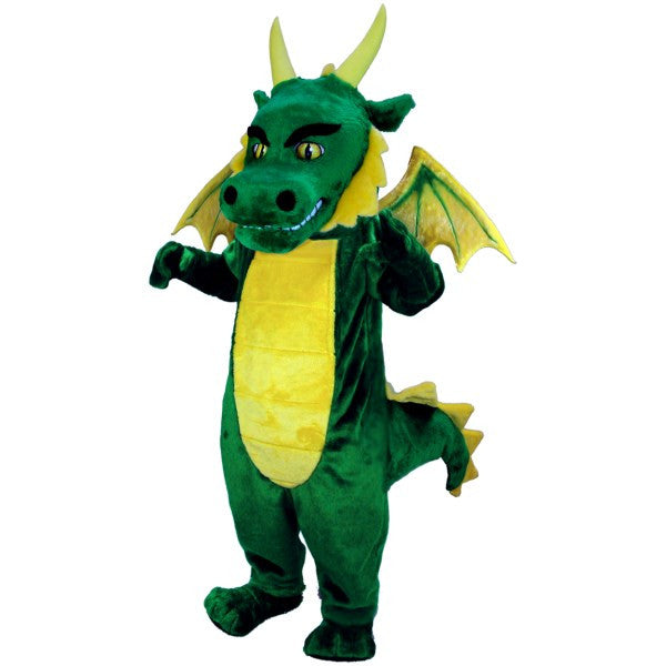 Green Dragon Lightweight Mascot Costume