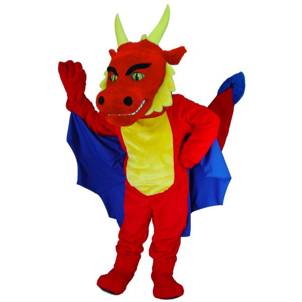 Red Dragon Lightweight Mascot Costume